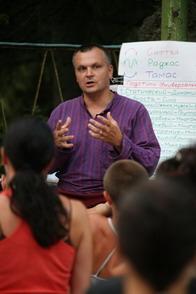 Семинар Андрея Лаппы в Симеизе летом 2009 года