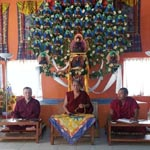 15-20.04. и 21.04 - 3.05.2015 Монастырь Карма Лекшей Линг, Гималаи, Катманду, Непал.