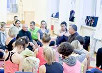Сертификационный курс Универсальной Йоги c Андреем Лаппа. 1-я и 2-я части. Москва, ноябрь 2016