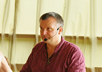 Андрей Лаппа на конференции «Наша йога» в Москве