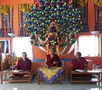 Внутренние практики в монастыре Карма Лекшей Линг. Непал, апрель 2017