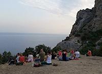 Сертификационный курс Универсальной Йоги, 1-3 части. Симеиз, Крым, 26 июля–30 августа 2017