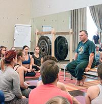 Сертификационный курс Универсальной Йоги c Андреем Лаппа. 1-я часть, Санкт-Петербург, май 2018