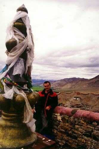 В монастыре Таши. Тибет, 1999 год